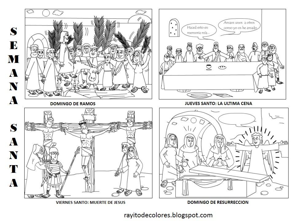 Semana Santa dibujos