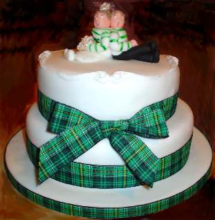 Celtic Birthday Cake Toppers
