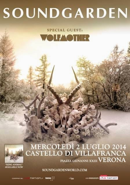 soundgarden italia 2014