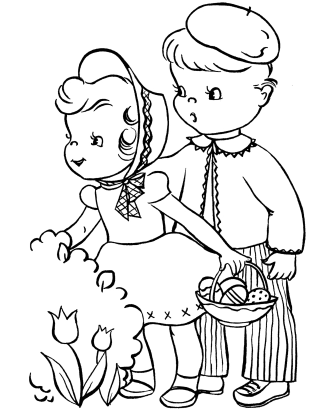 easter kids coloring pages - photo#13