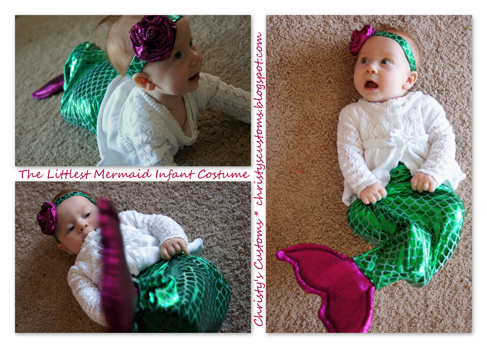 Christys customs and the little house by the olive tree the the littlest mermaid infant costume solutioingenieria Gallery
