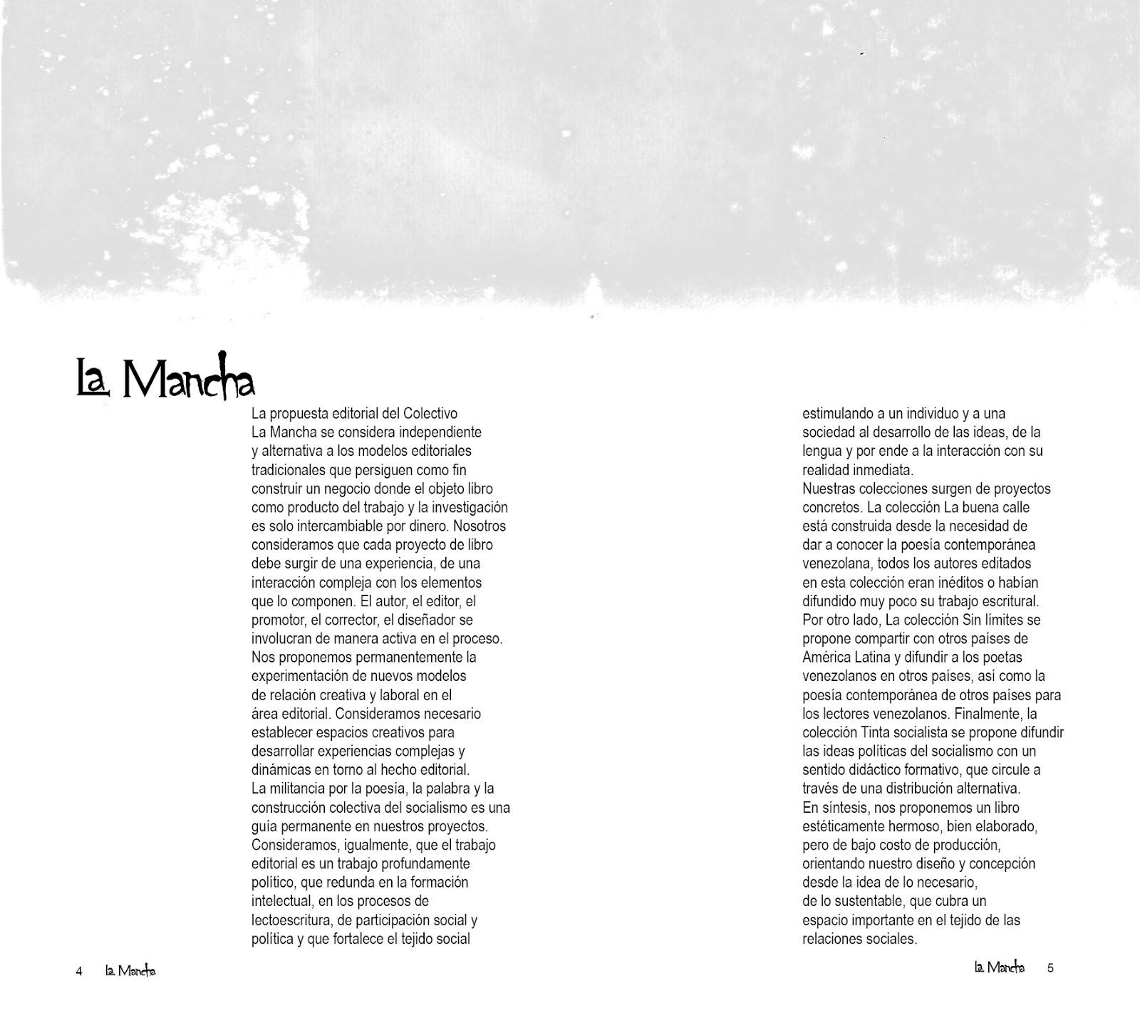 LA MANCHA EDICIONES