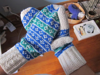 Marine Mittens Pattern Now Available