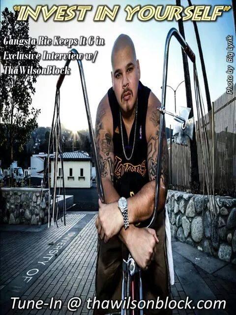 Gangsta Ric Interview