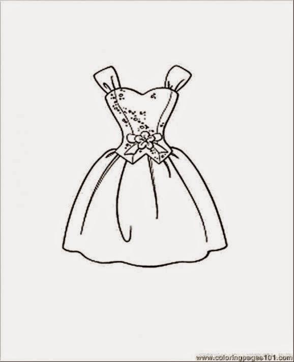 Fashion Dress Coloring Pages Coloring Pages Dresses az