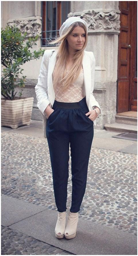 high waisted pants chiara ferragni