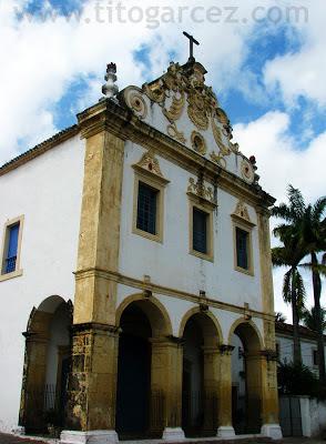 Fachada da Igreja do Convento do Carmo, em São Cristóvão - Sergipe
