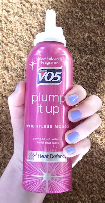 VO5 Heat Defence Plump It Up Weightless Volume Whipped Mousse Review