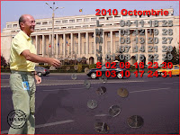 Funny postcard Octombrie Traian Basescu