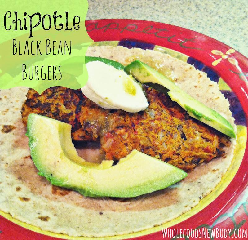 Chipotle Black Bean Burgers title=