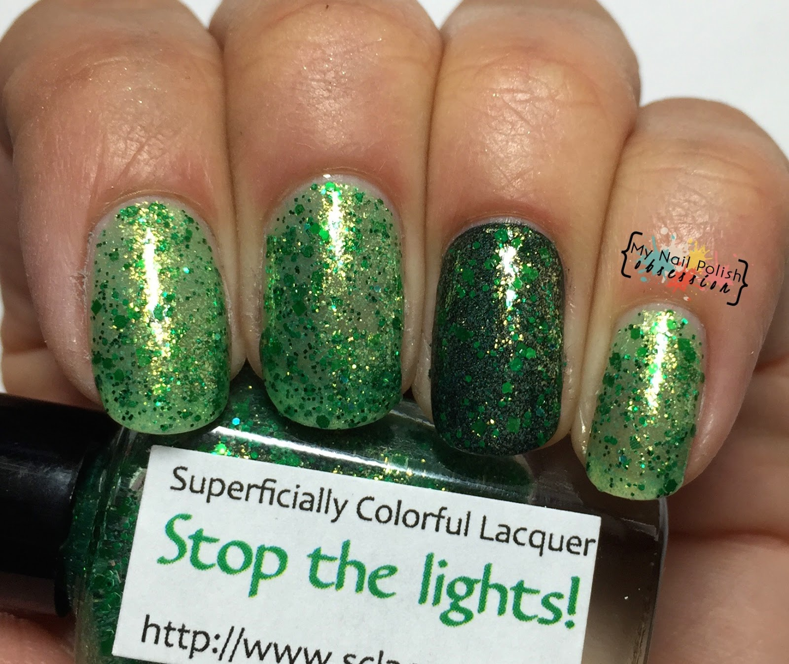 Superficially Colorful Lacquer Stop the Lights