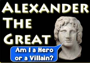 alexander the great hero or villain Dbq alexander the great: hero or villain graphic organizer alexander the great: hero or villain graphic organizercreated for use with the alexander the great: how great.