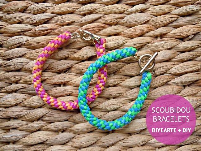 jewelry_bracelet_diy_diyearte_handmade_scoubi_scoubidou_pulseras_colores