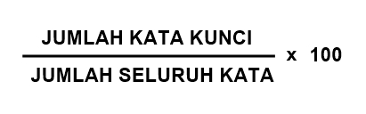 Keyword Density Formula