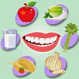 aliments pour les dents