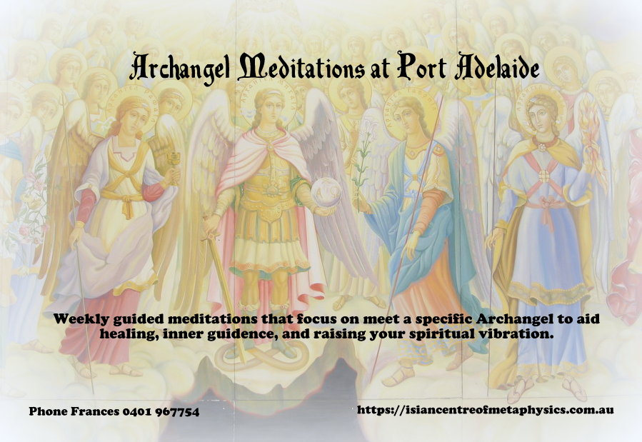 SEPTEMBER: Archangel Meditation Course
