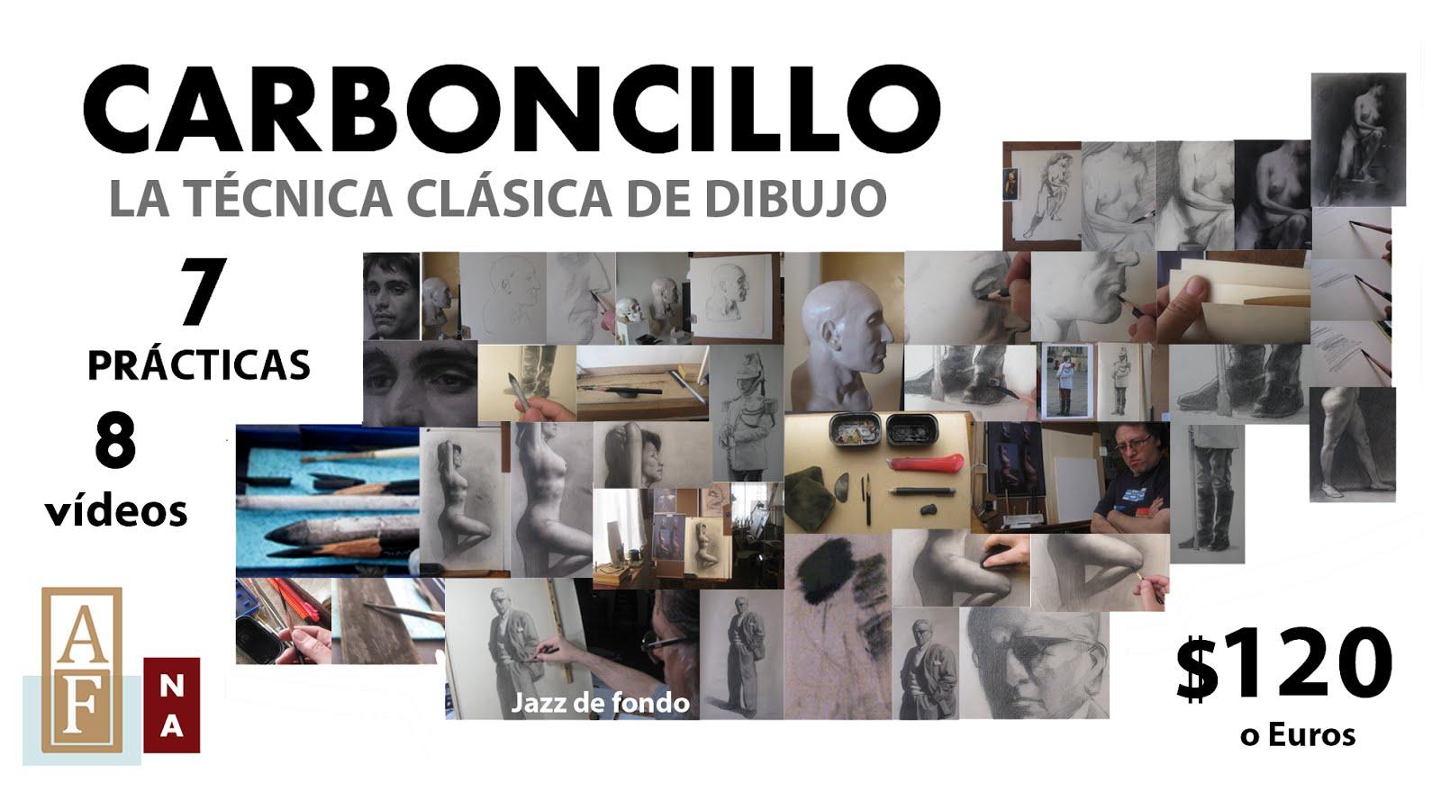 CARBONCILLO LA TÉCNICA CLÁSICA