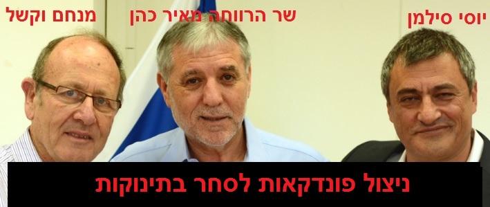 שר הרווחה מאיר כהן - ניצול פונדקאות לסחר בילדים