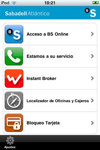 Banco sabadell m vil ios iphone for Oficina correos sabadell