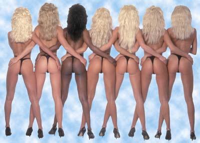 naked girl music video