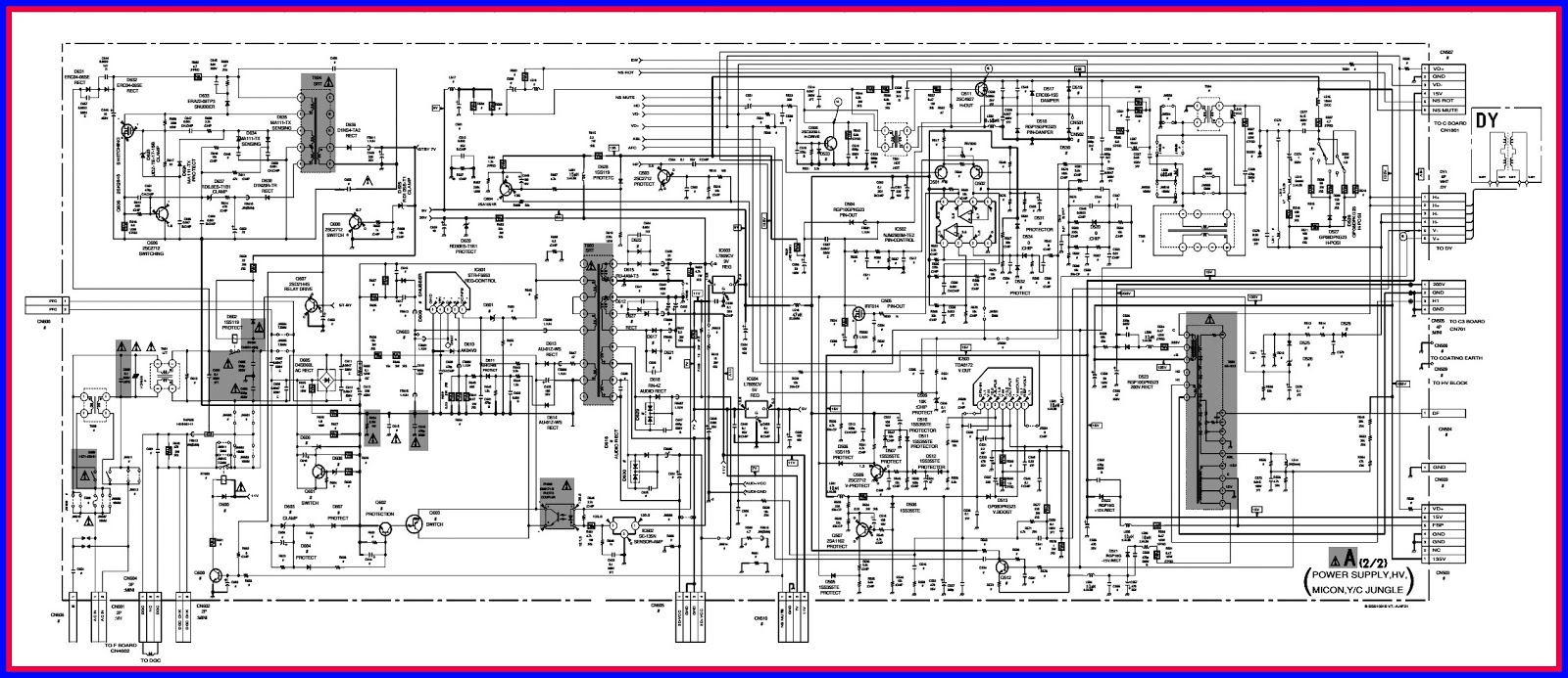 Unusual Sony Tv Wiring Diagram Photos - Electrical Circuit Diagram ...