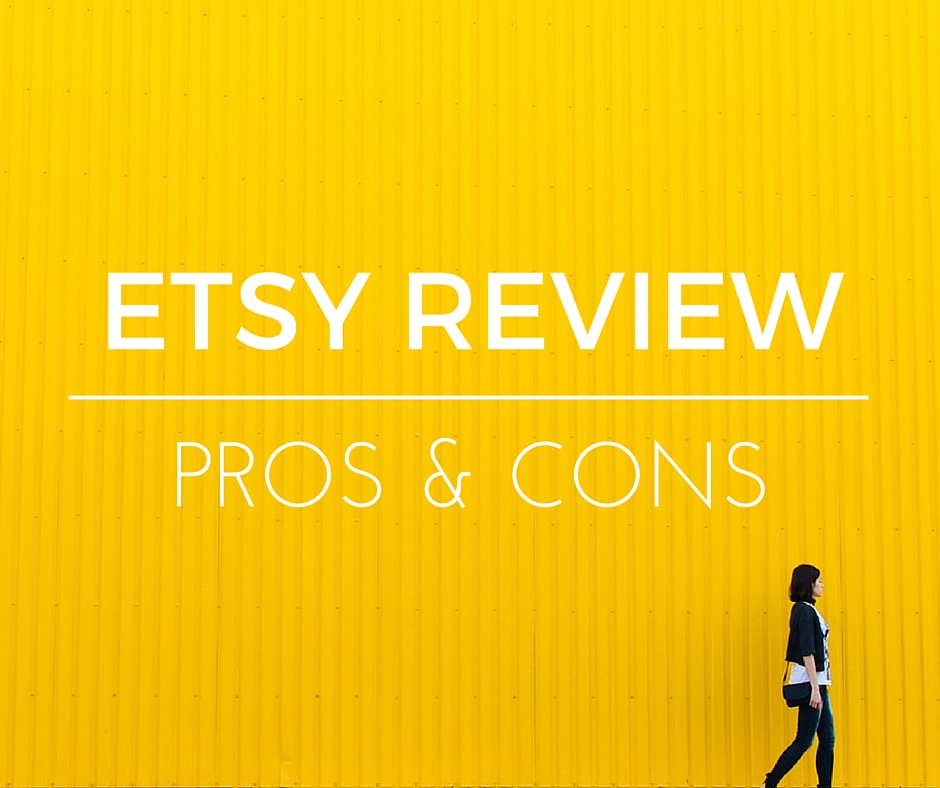 Etsy Review: pros & cons