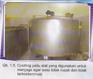 """PENDINGIN SUSU (COOLING UNIT)"""