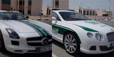 Dua Lagi Mobil Supercar Kepolisian Dubai