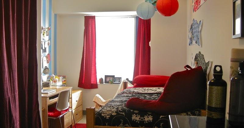 Northeastern University Dorm Room Supplied Furnitur