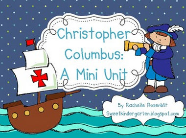 Next week we're moving on to Christopher Columbus .....