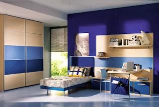 dormitorio azulino