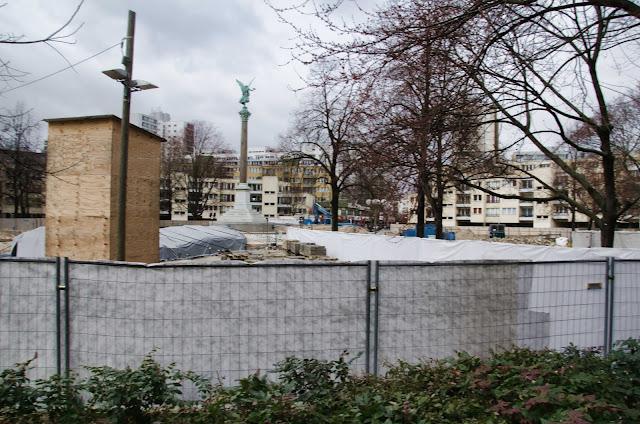 Baustelle, Tunnelsanierung U6, BVG, Mehringplatz, 10969 Berlin, 11.03.2015