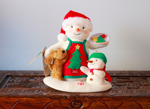 Hallmark Canada Time for Cookes Snowman Techno Plush #LoveHallmarkCA