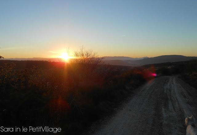 Luberon, Provence sunrise