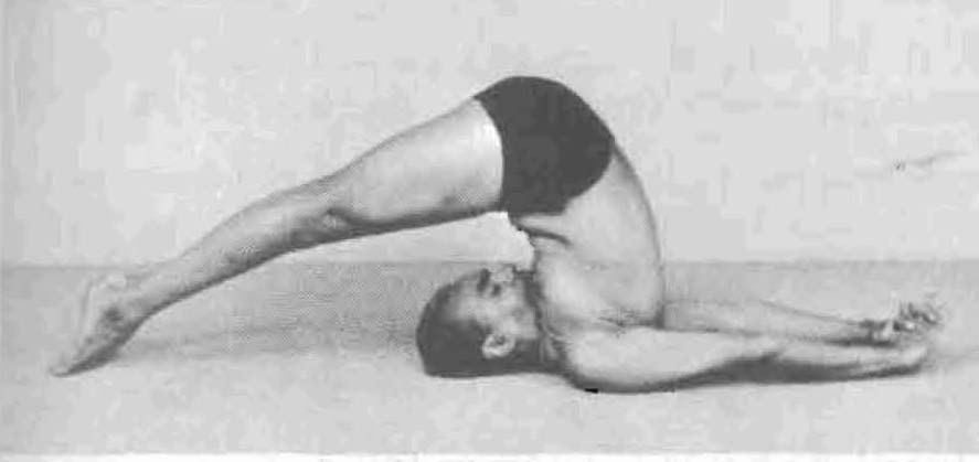 Yoga Postura Halasana  B.K.S. Iyengar