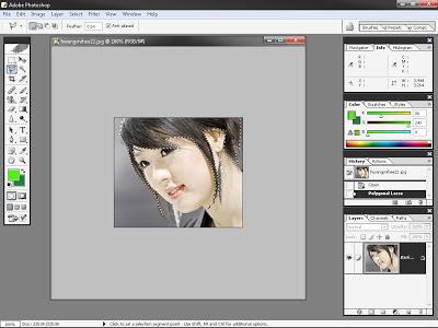 Mewarnai Rambut Dengan Photoshop