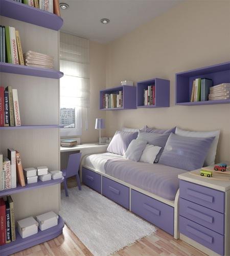 Como decorar habitaciones peque as para j venes - Como decorar habitaciones pequenas ...