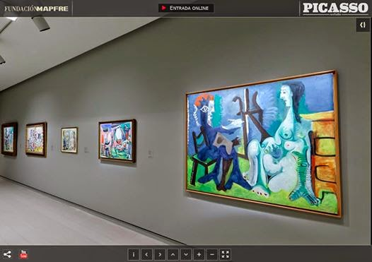 http://www.exposicionesmapfrearte.com/picassotaller/visita_virtual/visita_virtual.html