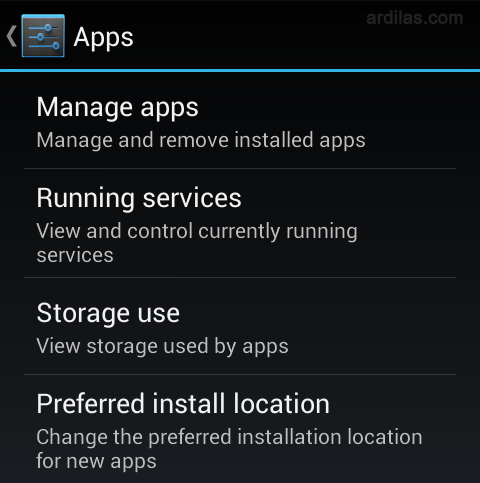 Storage use - Cara Keluar (Log Out / Sign Out) Dari Aplikasi Line - Android