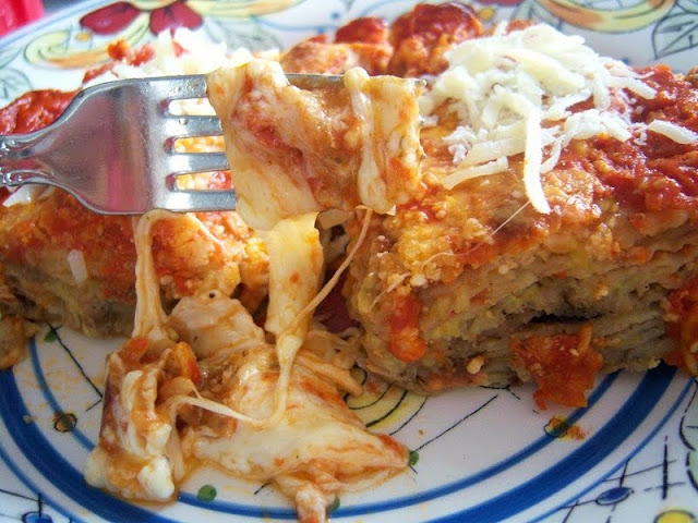 What's Cookin' Italian Style Cuisine: Cheesy Eggplant and ...