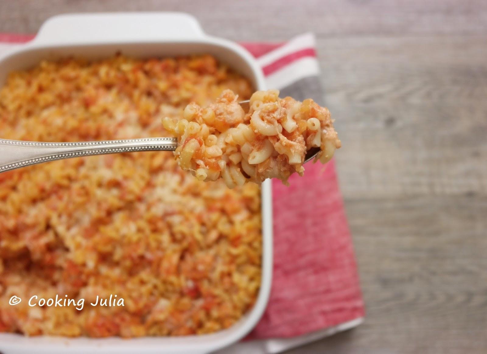 cooking gratin de p 194 tes au thon