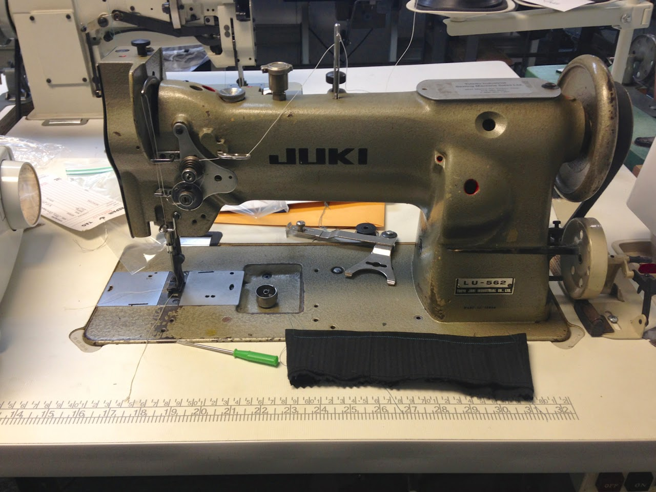 toledo industrial sewing machine