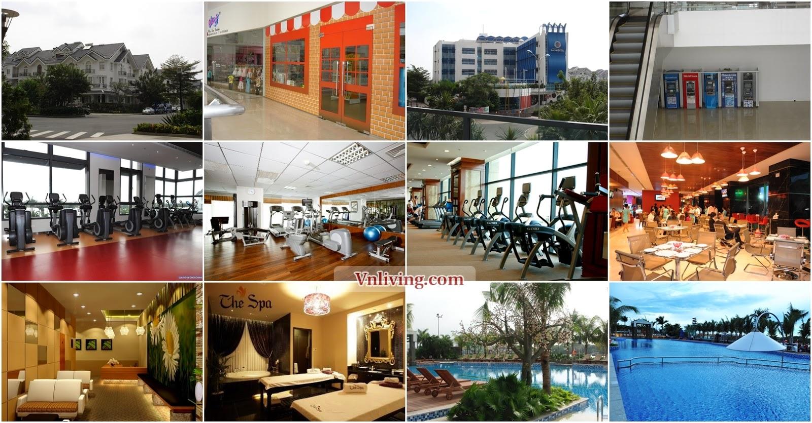 Saigon Pearl facilities at Binh Thanh Dist