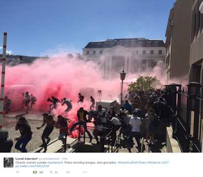 Photos From The Historic #FeesMustFall Protests By University Students In South Africa