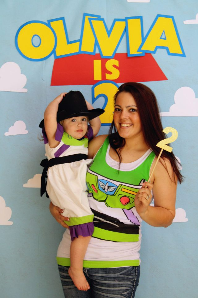 Walls Under Construction: Olivia\'s Toy Story Birthday Bash