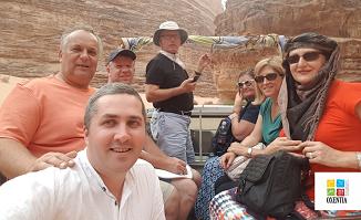 ✈️ MIHAIL MANOLE LA PETRA CU OXENTIA TOURISM