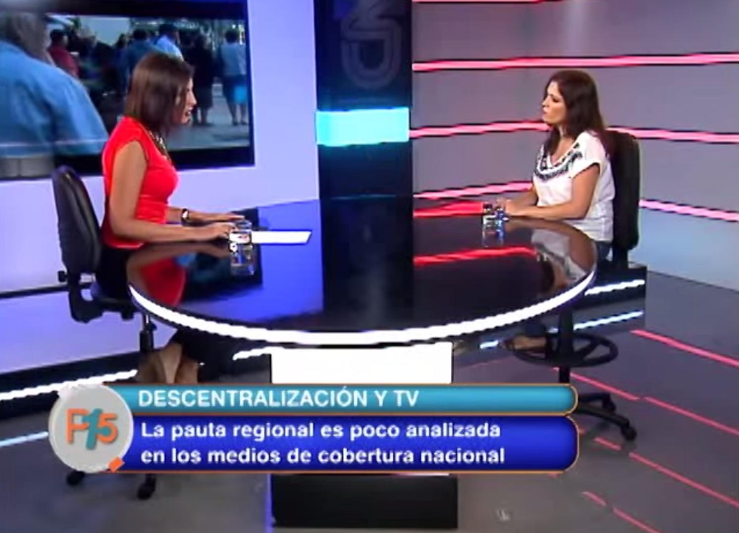 Javiera Olivares en Entrevista con Panorama Quince de CNN Chile