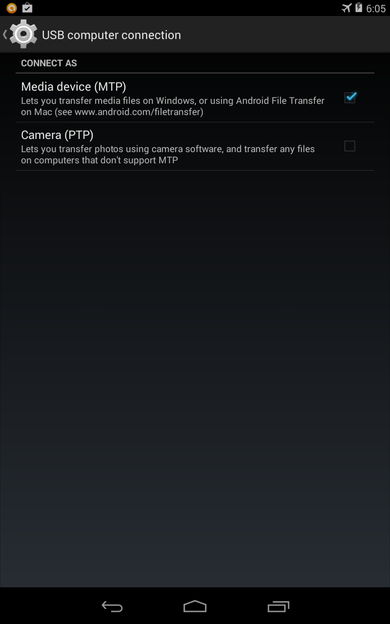 Solve MTP Issue On Nexus 7- Device Not Detected x64 ...