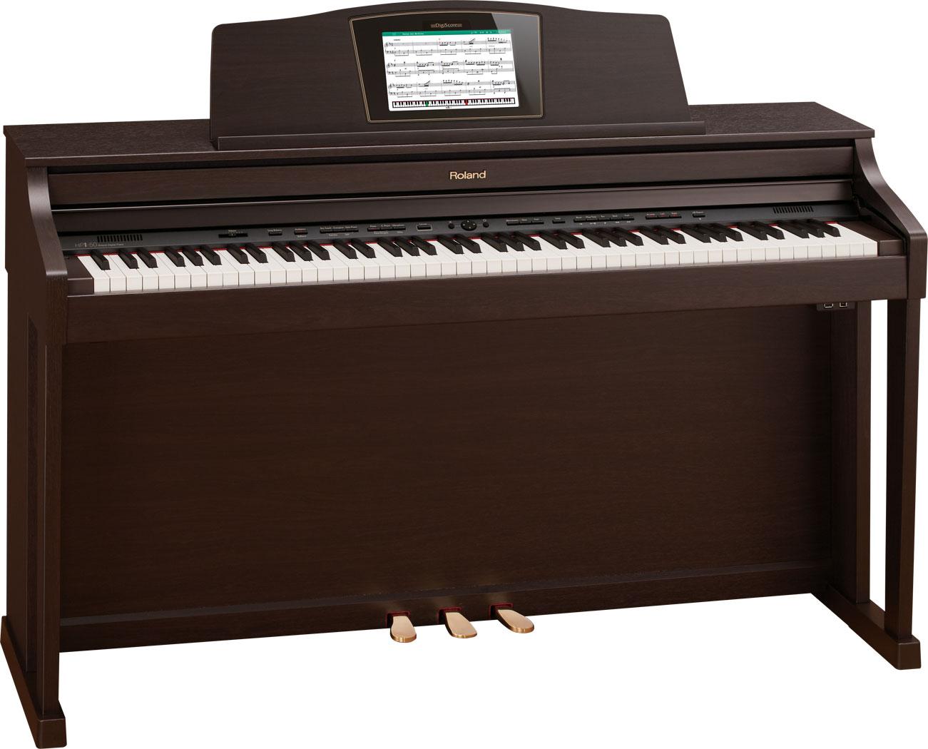 Az piano reviews review roland hpi50e digital piano for Moderni piani a 4 piani