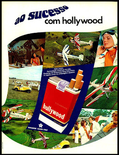 cigarros Hollywood, propaganda anos 70; história decada de 70; reclame anos 70; propaganda cigarros anos 70; Brazil in the 70s; Oswaldo Hernandez;